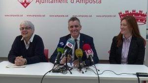 Presentació dels plans d'ocupació a l'Ajuntament d'Amposta