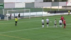 CF Amposta vs FC Santboià. 1a catalana