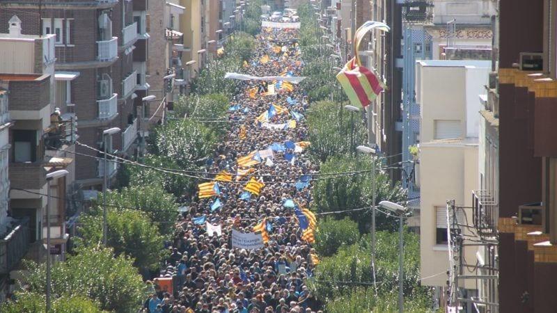 La manifestació ha congregat 50.000 persones