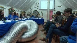 Reunió europarlamentaris amb la Plataforma en Defensa de l'Ebre