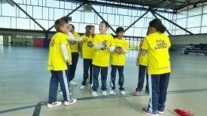 Alumnes del col·legi de la Consolació participen al programa Barçakids a Tortosa