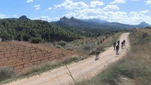 Recorregut amb bicicleta entre Gandesa i Bot