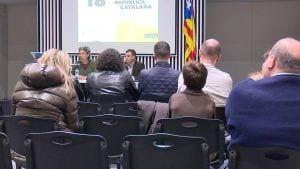 La conferència sobre L'Esport en la Catalunya independent va estar organitzada per l'assemblea territorial de l'ANC a Tortosa