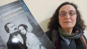 Conxa Rodríguez, autora de 'Piano a cuatro manos'