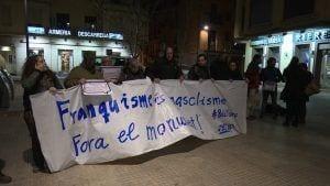 Concentració 'cupaire' a la plaça del Paiolet