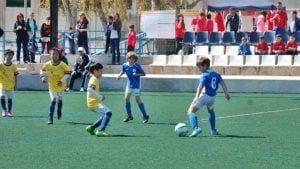 Partit disputat durant l'edició de 2015. Font: www.itefootball.com