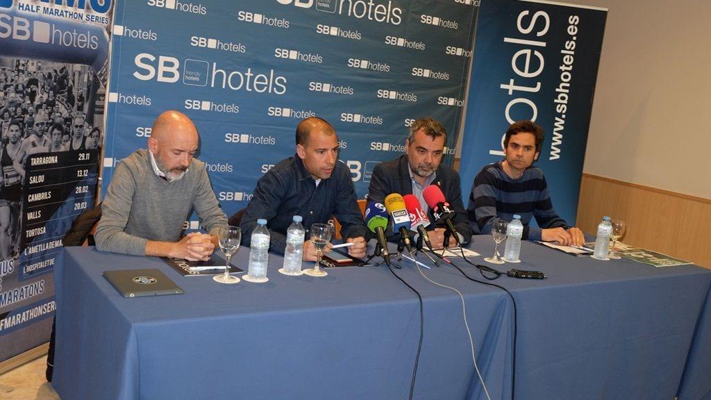 La presentació de la Mitja Marató de Tortosa ha tingut lloc a l'Hotel Corona de Tortosa