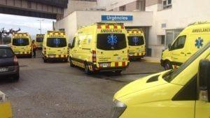 Foto: plataforma Salvem les Ambulàncies a les Terres de l'Ebre