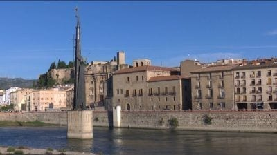 Imatge del monument franquista de Tortosa