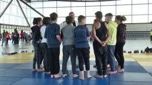 El judo ha sigut un des esports que han format part de la Diada Poliesportiva del Baix Ebre