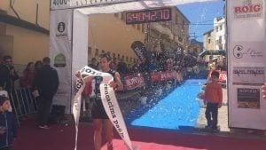 Javier Heras creua en primera posició la meta de la quarta edició de la Trencacims Paüls
