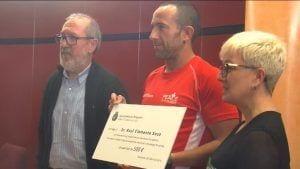Entrega xec solidari socorrista Roquetes