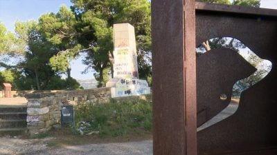 MONUMENT FRANQUISTA AL COLL DEL MORO DE GANDESA
