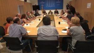 Reunió a la Delegació del Govern de la Generalitat a Tortosa
