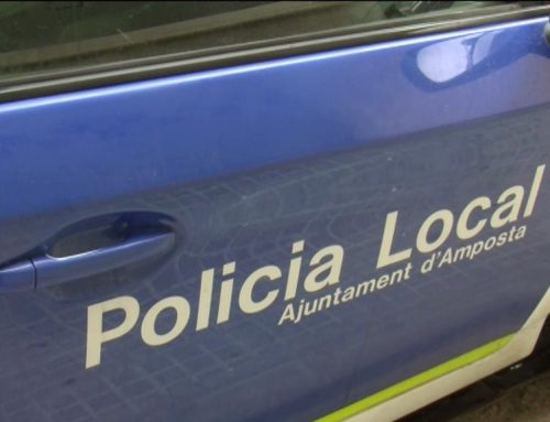 Detingut un lladre reincident a Amposta quan intentava robar a l'interior d'un vehicle