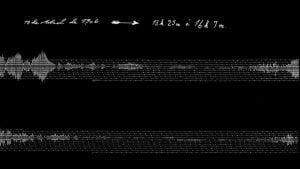 Sismograma / Cedida