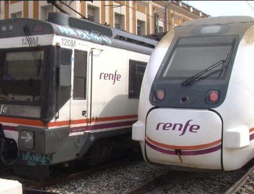 Interromput el servei de tren a la R16 entre Tortosa i l'Aldea per acumulació d'aigua a les vies