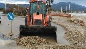 Les Cases d'Alcanar va ser un dels municipis afectats pel temporal