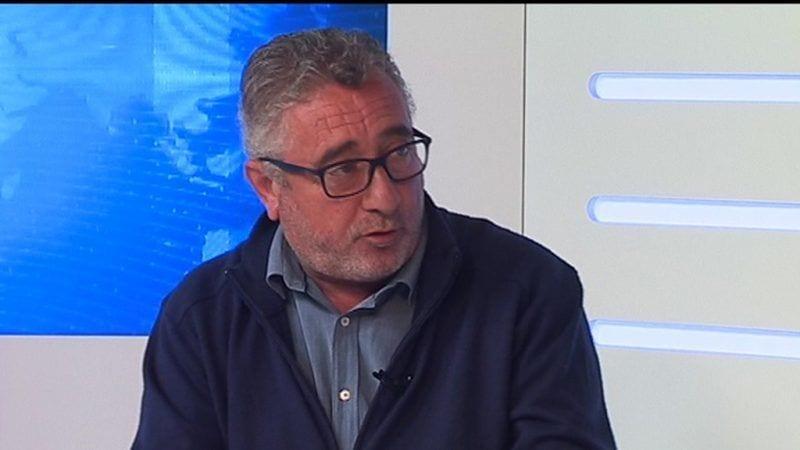 El senador d'ERC, Miquel Aubà, en l'entrevista de l'Ebre Noticies
