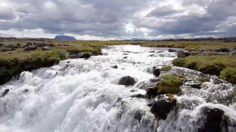 Fotograma d'una pel·lícula d'Islàndia que es presentarà la certamen / Cedida