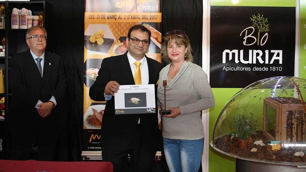 La tapa 'Rollets Cruixents', presentada per Homogènik, s'emporta el primer premi de la Ruta de la Tapa amb Mel / Cedida