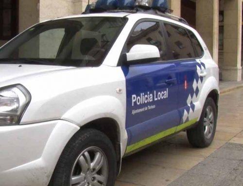 La Policia Local de Tortosa deté un home per un intent de robatori amb força