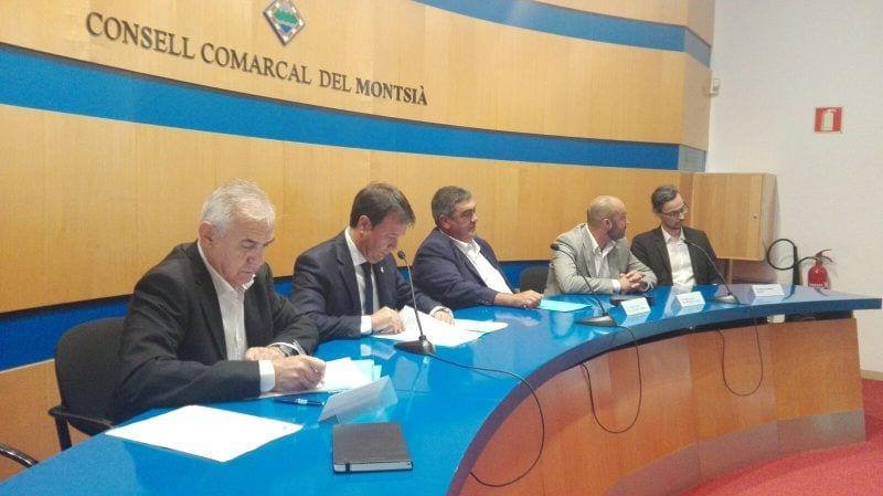 Francesc Miró al ple del Consell Comarcal