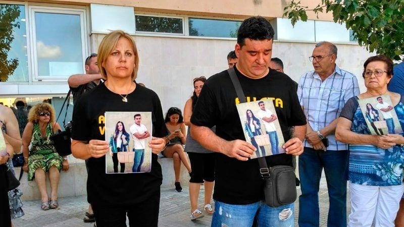 Els pares d'Emma han convocat la concentració a les portes dels jutjats d'Amposta