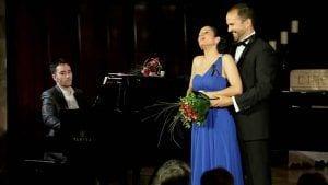 La cantant soprano lírica Sara Blanch, a Tivissa/ Joan C. Blanch