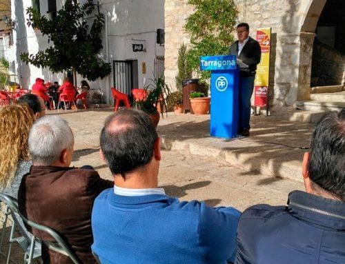 Un vocal del Comité Electoral, únic càrrec ebrenc al nou PPC