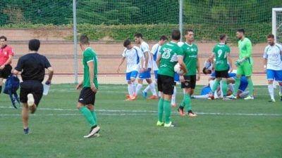 Imatge del partit de la primera volta entre l'Ascó i el Granollers