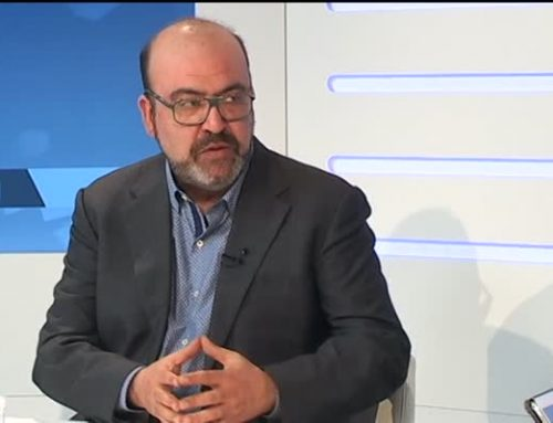"""Josep Maria Arasa, director de Canal Terres de l'Ebre, """"la tendència de l'audiència és clarament a l'alça i estem convençuts que creixerem més""""."""