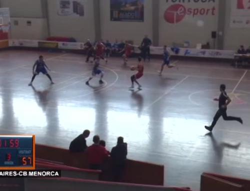 CB Cantaires Tortosa vs CB Menorca (53 – 91)
