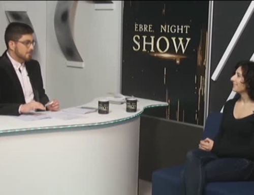 Ebre Night Show. Irene Gellida, actriu i cantant.