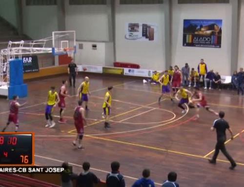 CB Cantaires vs CB Sant Josep (84 – 85 )
