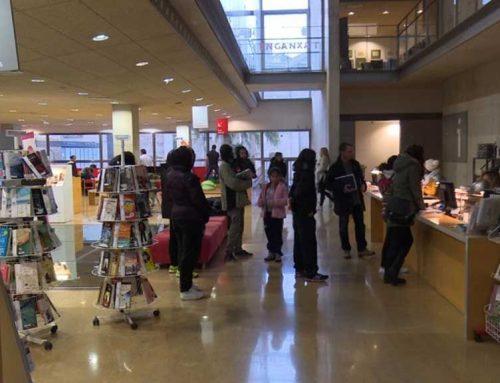 Forta activitat a la Biblioteca Marcel·lí Domingo durant l'any 2018