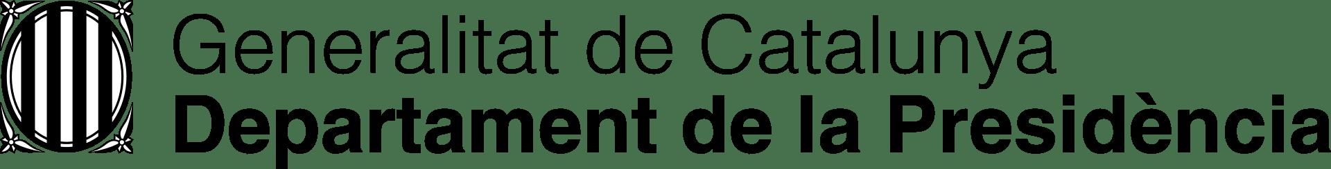 Generalitat de Catalunya. Departament de la Presidència.