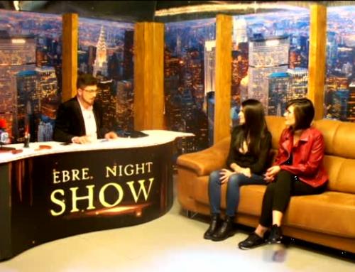 Ebre Night Show. Ferran Aixalà, humorista, i Adrià Cid, cantant