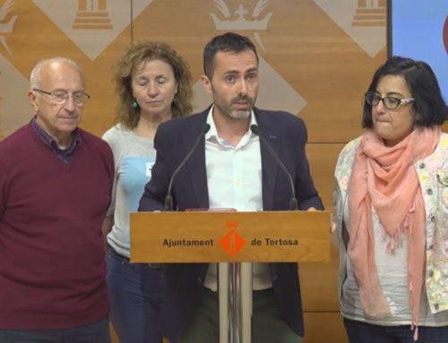 Movem Tortosa reclama a l'alcaldessa que done la cara per la investigació a la Santa Creu