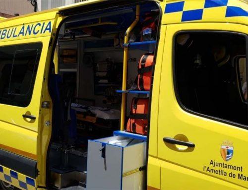 Un porc senglar provoca un aparatós accident a Tortosa