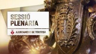 Sessió Plenària - Ajuntament de Tortosa