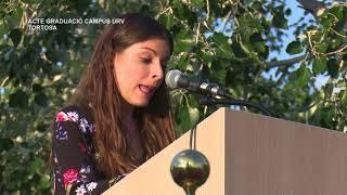 Acte de graduació al Campus URV de Tortosa
