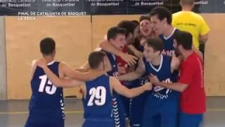 Finals del campionat de Catalunya sots 21 de bàsquet a La Sénia