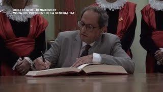 XXIII Festa del Renaixement: Visita del President de la Generalitat