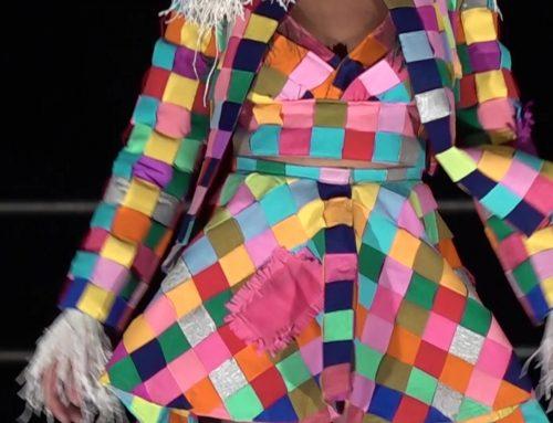 L'art de la moda en paper a Amposta