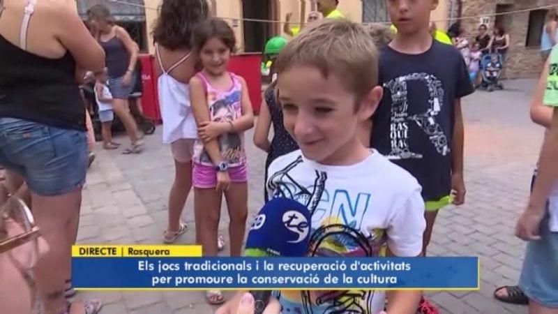 A Rasquera promouen jocs tradicionals per no perdre'ls mai