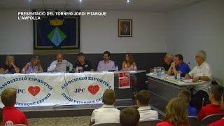 Presentació del Torneig Jordi Pitarque a l'Ampolla