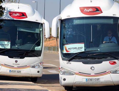 MotorLand aposta per Hife per al servei d'autobusos al Gran Premi d'Aragó de MotoGP