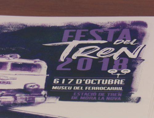 """El final de l'obra """"Un passeig per l'estació"""" es podrà veure a la nova Festa del Tren"""