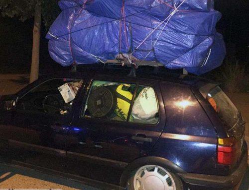 Denunciat el conductor d'un vehicle que circulava temeràriament per l'N-340 a Alcanar